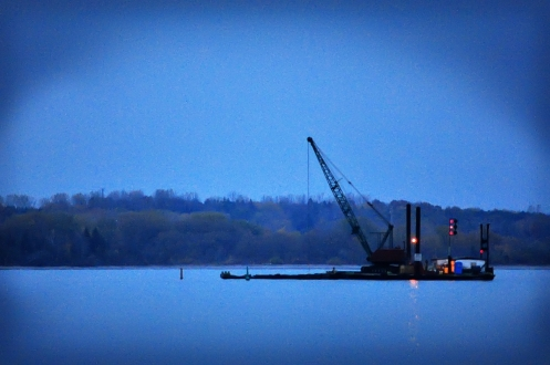 Dredging in the dark