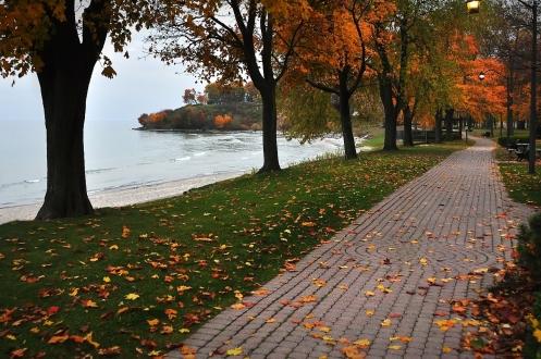 Promenade at dusk