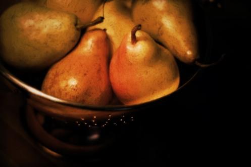 Pears aplenty